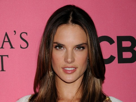 Alessandra Ambrosio At Vicotrias Sectret Show