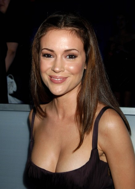 Alyssa Milano Without Makeup New Pic