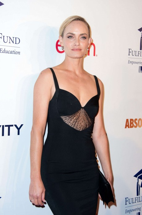 Amber Valletta Fulfillment Fund Stars Benefit Gala