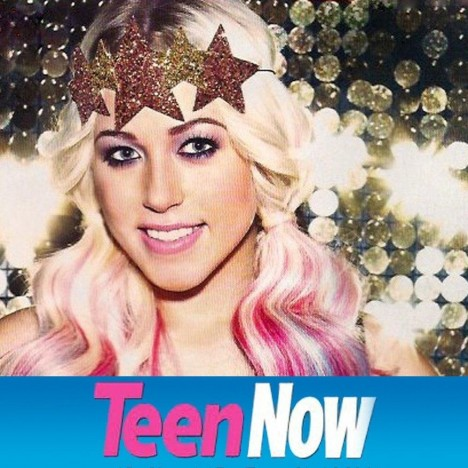 Intergalactic Starlight Crown In Molten As Worn By Amelia Lily