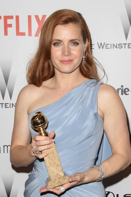 Amy Adams The Weinstein Company And Netflixs Golden Globes Party