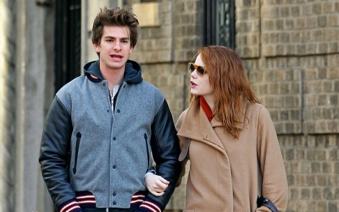 Andrew Garfield And Emma Stone Wide Wallpaper