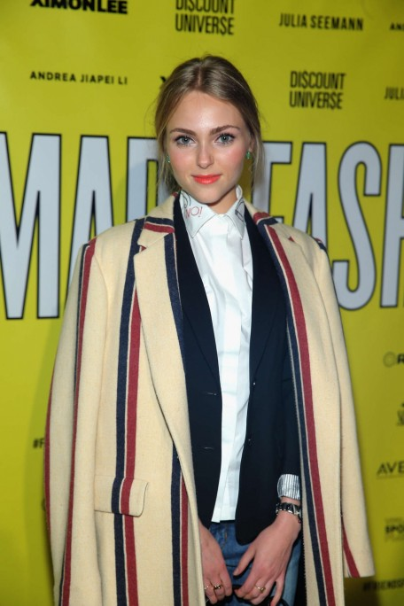 Annasophia Robb Vfiles Made Fashion Show Fashion