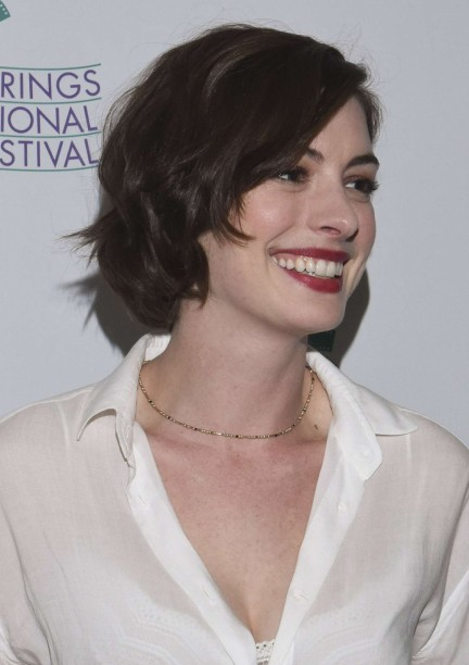 Anne Hathaway Song One Screening At Palm Springs Iff