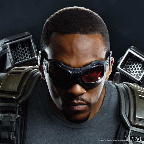 Anthony Mackie As Falcon In Captain America