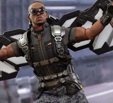 Captain America Anthony Mackie Vest Falcon