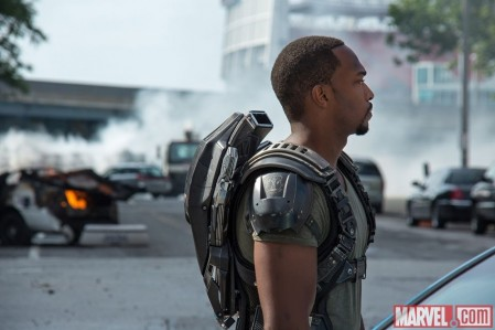 Captain America The Winter Soldier Anthony Mackie As Falcon Falcon