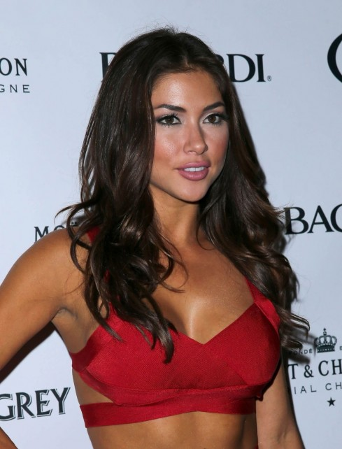 Arianny Celeste Arrived To Haze Nightclub In Las Vegas