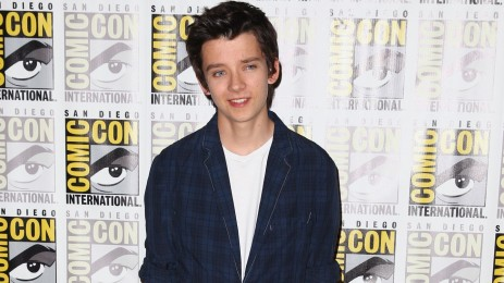 Asa Butterfield Enders Game Comic Con
