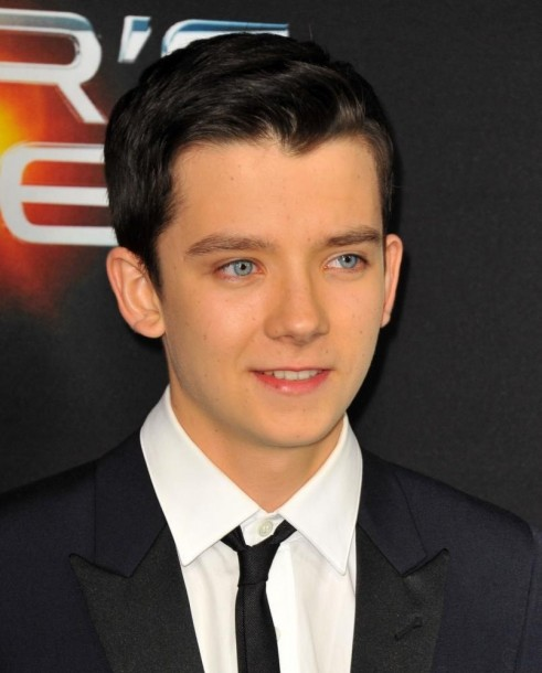 Asa Butterfield Shared Picture