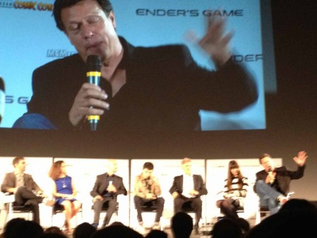 Enders Game Qa Harrison Ford Asa Butterfield Ben Kingsley Gavin Hood Body