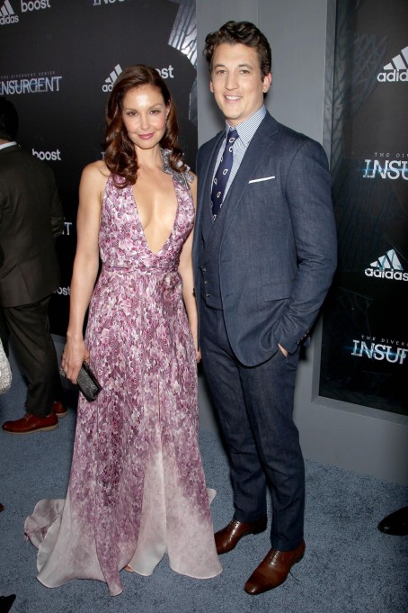 As Ey Judd And Miles Teller At Event Of Insurgent Large Picture