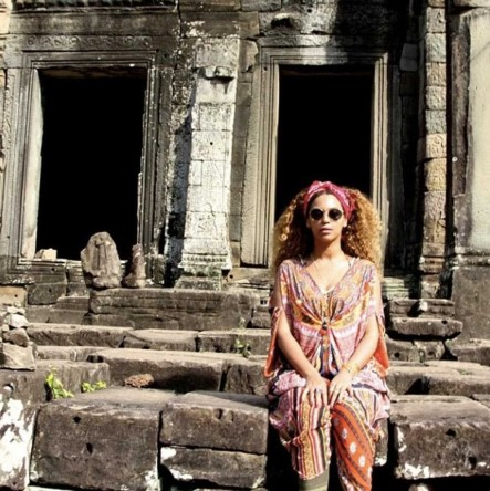 Beyonce Instagram January Large