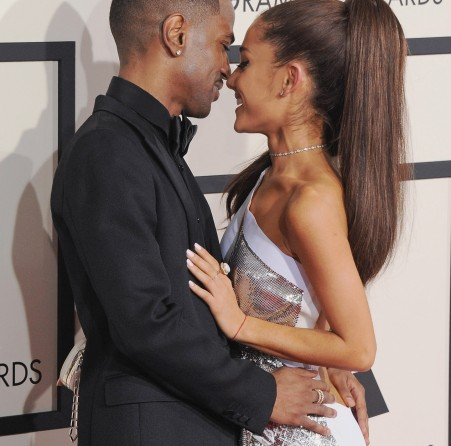 Big Sean Ariana Grande Kisses On Stage And Ariana Grande Kissing