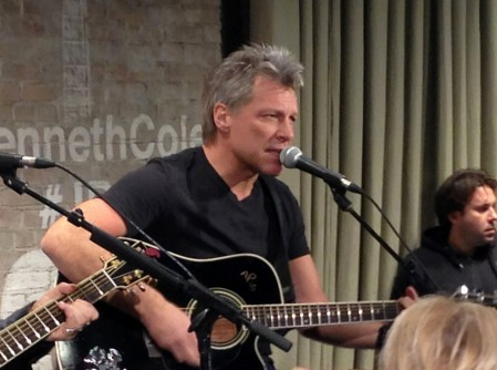 Bon Jovi At Kenneth Cole Store Ap