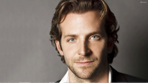 Bradley Cooper Cute Face Closeup Grey Background