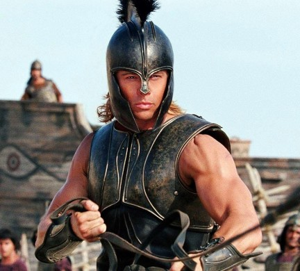 Brad Pitt In Troy Movie Image Troy