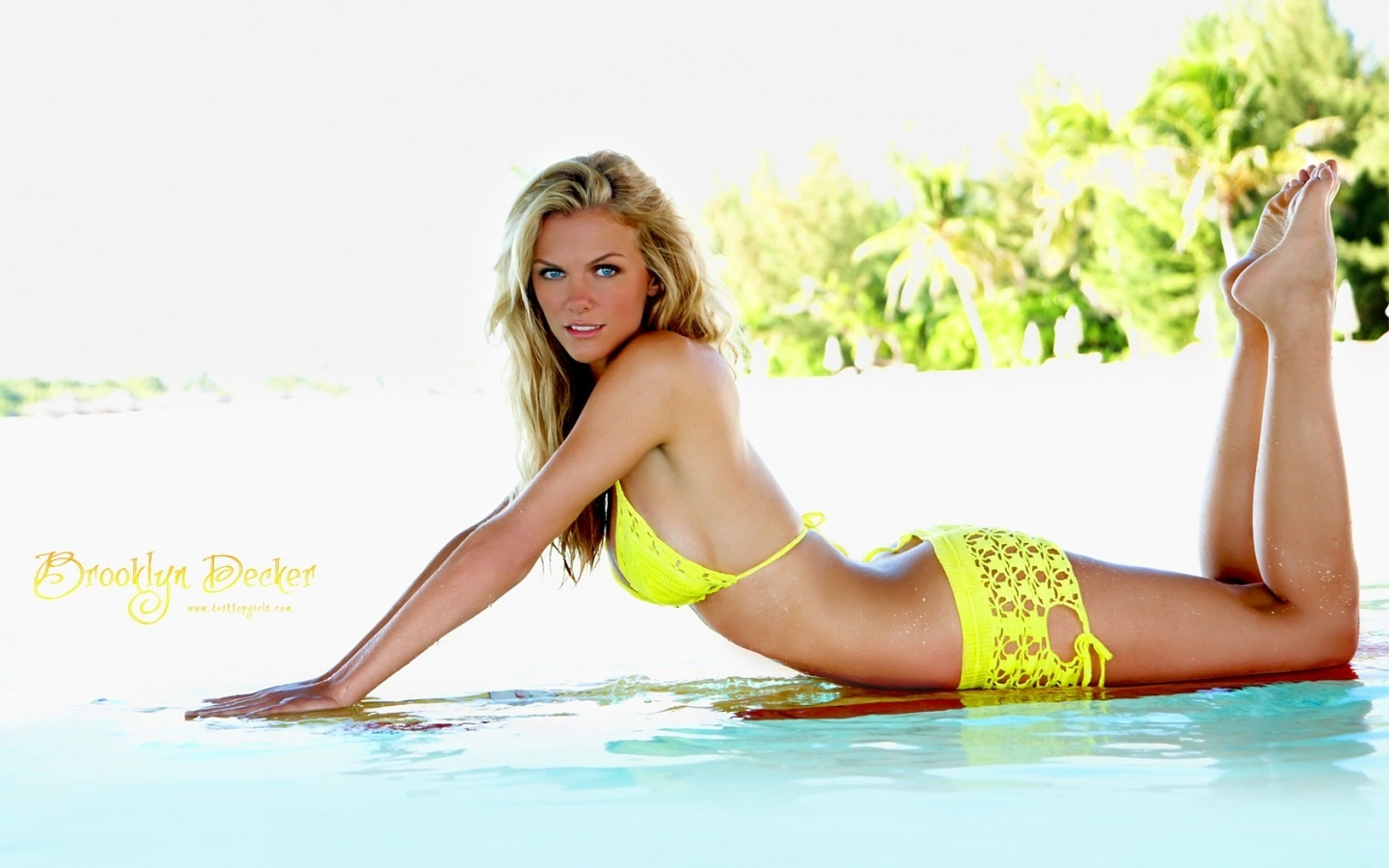 Models Brooklyn Decker Wallpaper
