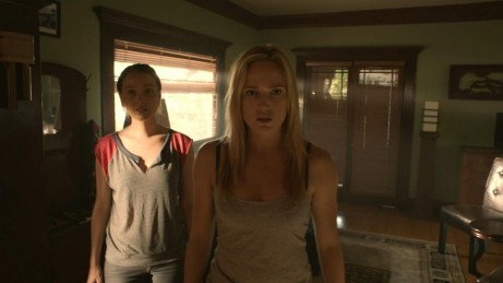 Still Of Caity Lotz And Camilla Luddington In The Pact Ii Large Picture