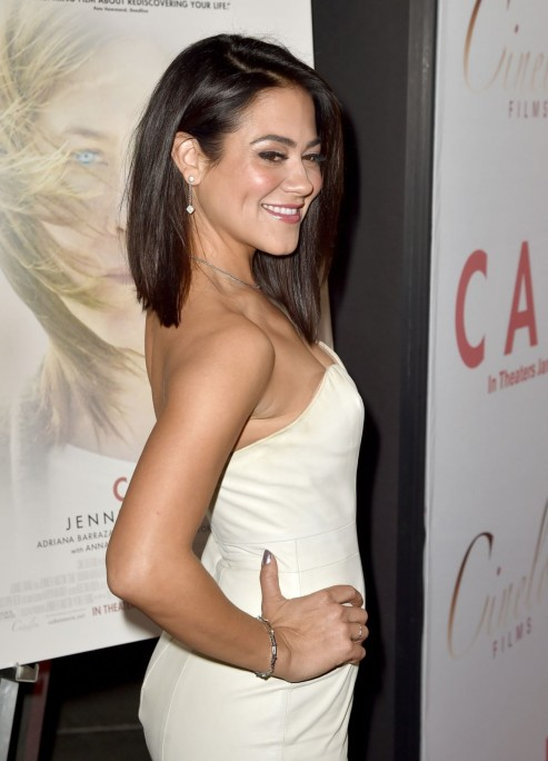 Camille Guaty At Cake Premiere In Hollywood Sarah Wayne Callies