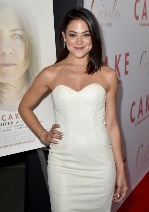 Camille Guaty At Premiere Of Cinelou Films Cake