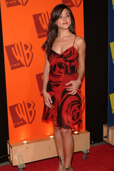 Camille Guaty On The Wb Red Carpet