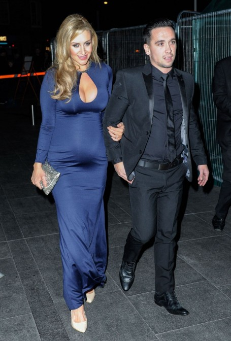 Catherine Tyldesley Appear At Rts North West Awards In Manchester