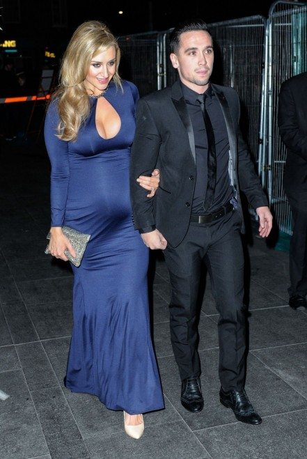 Catherine Tyldesley Appear At Rts North West Awards In Manchester Baby