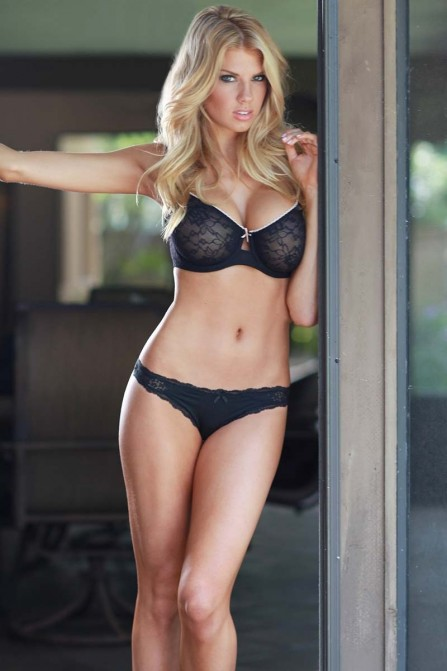 Charlotte Mckinney Lingerie Photoshoot By Troy Huynh Hot