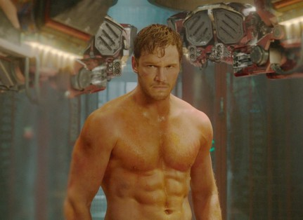 Guardians Of The Galaxy Official Photo Chris Pratt Workout Weight Loss