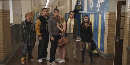 Still Of Alexa Nikolas Christa Allen Jacob Zachar And Jayson Blair In Detention Of The Dead Alexa Nikolas