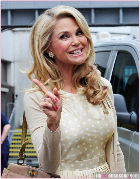 Christie Brinkley Withou