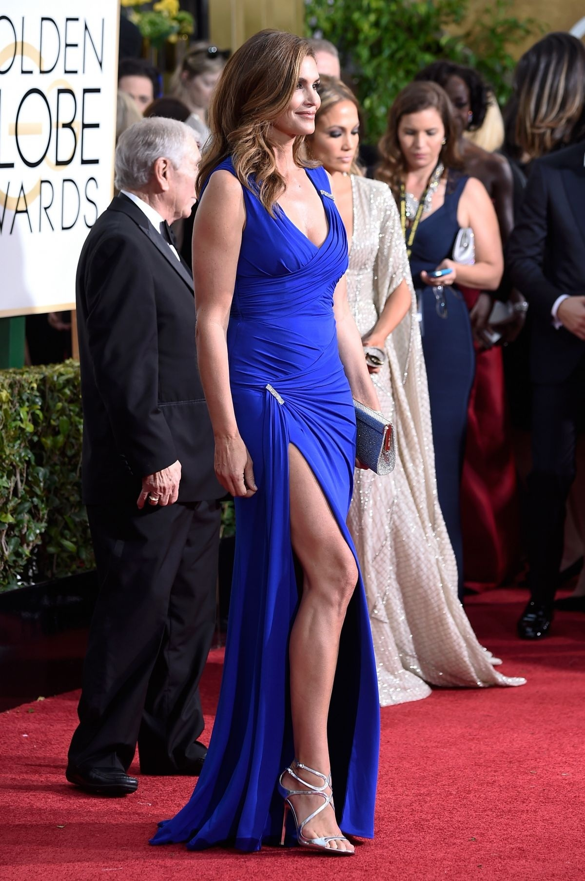 Cindy Crawford Attend The Nd Annual Golden Globe Awards In Beverly Hills