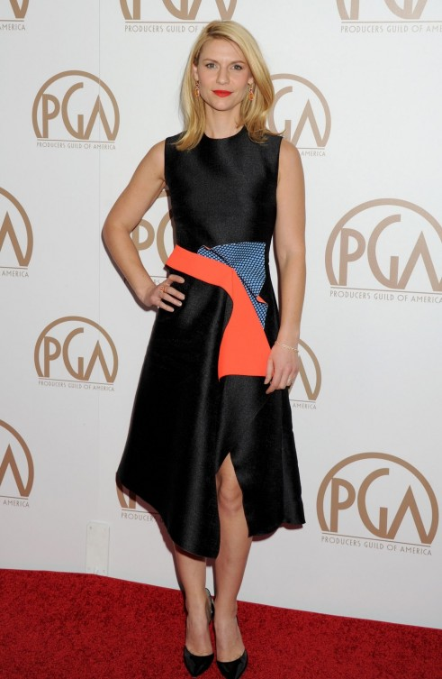 Claire Danes Producers Guild Awards In Los Angeles Fashion