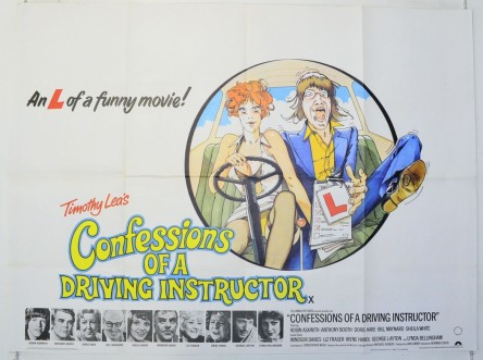 Confessions Of Driving Instructor Cinema Quad Movie Poster Movie
