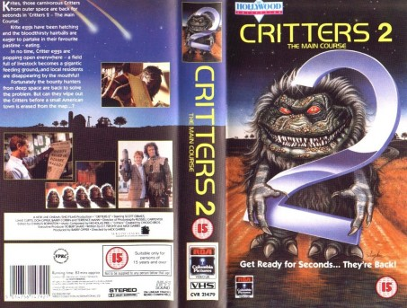 Critters The Main Course Vhs Movie