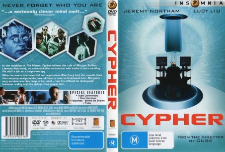 Cypher Ws Front Wwwgetdvdcoverscom Movie