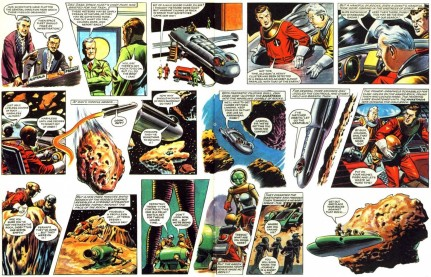 Dan Dare Space Rocks