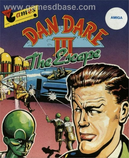 Dan Dare The Escape Virgin Games Ltd Movie