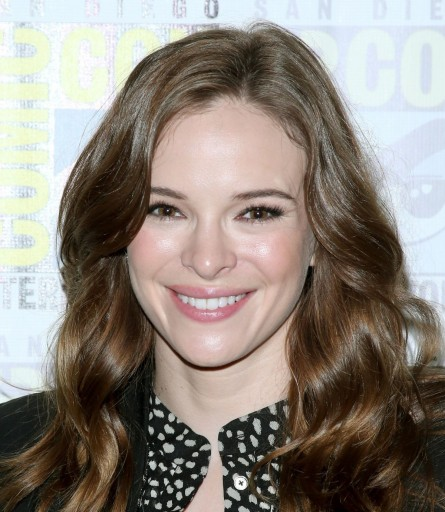 Danielle Panabaker Visit The Flash Press Line At Comic Con In San Diego