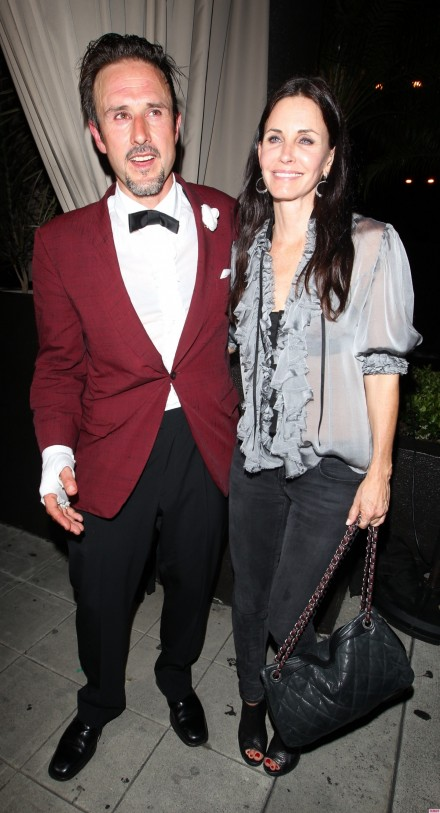 Courteney Cox And David Arquette Attend An Event Together
