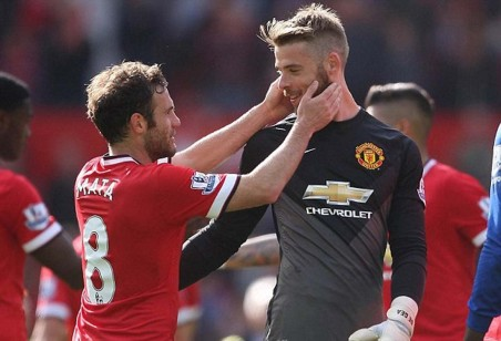 Manchester United Midfielder Juan Mata Believes That David De Gea Vs Everton