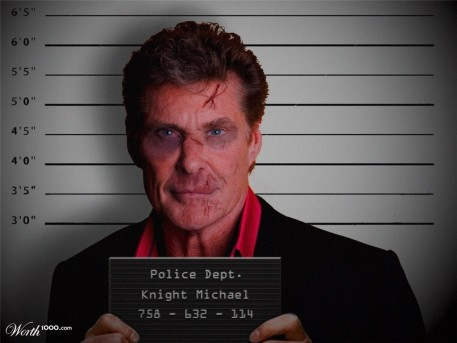 David Hasselhoff Shared Photo China