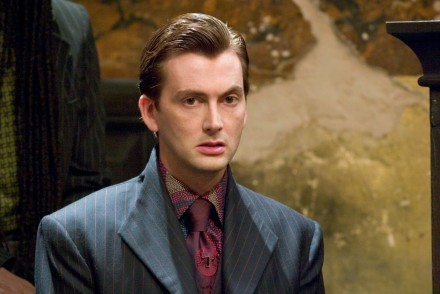 David Tennant Harry Potter And The Goblet Of Fire Publicity Shoot