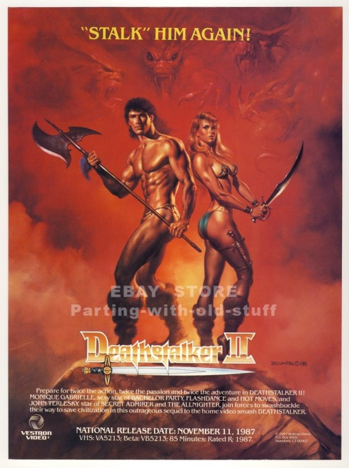 Deathstalker Ad Movie
