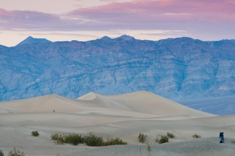 Death Valley Dunes Sunset Facts