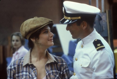 Still Of Richard Gere And Debra Winger In An Officer And Gentleman Large Picture Officer And Gentleman