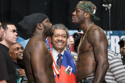 Bermane Stiverne And Deontay Wilder Sport
