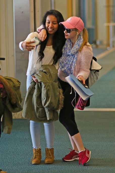 Dove Cameron Booty Vancouver Airport