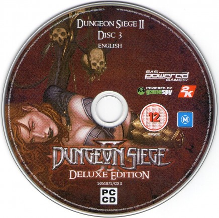 Dungeon Siege Ii Deluxe Edition Czech Potisk Cd